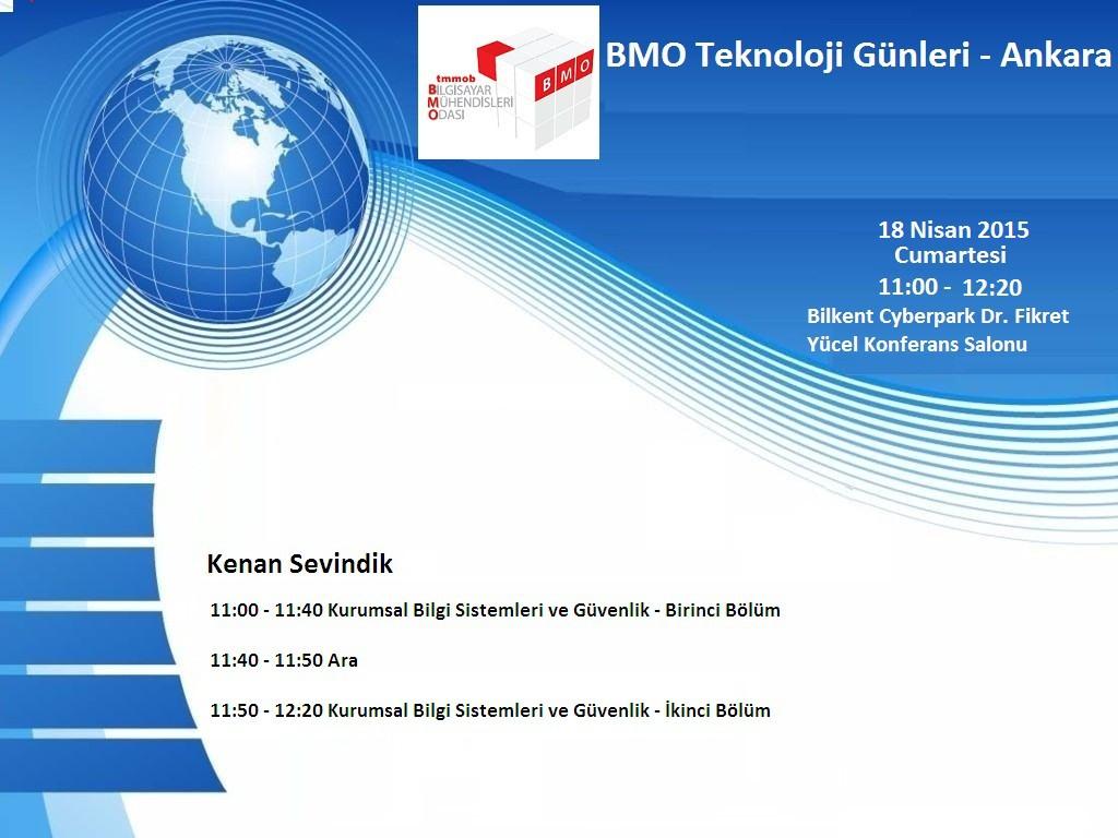 BMO_TeknolojiGunleri_Ankara_2015Nisan